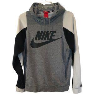 Nike swoosh logo spell out hoodie sweatshirt